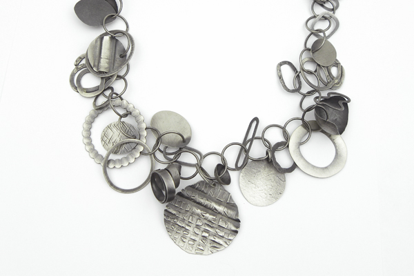 recycled silver necklace